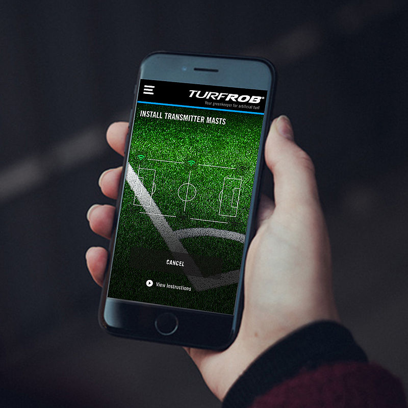 Intelligence: Turfrob plus app for new ways in pitch maintenance.